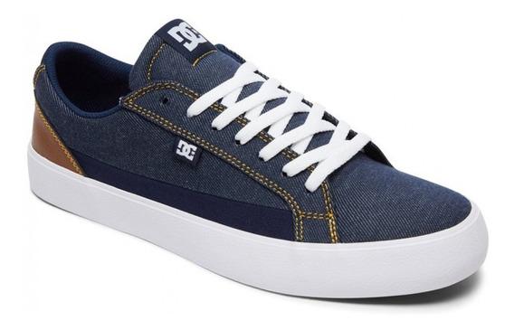 Zapatillas Dc Shoes Lynnfield Tx Se Azul Jean Talon Marron