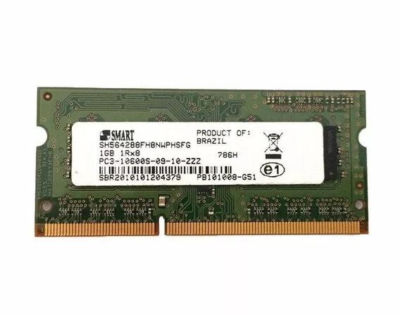 Memoria Ram Ddr3 Smart Notebook 10600s 1gb