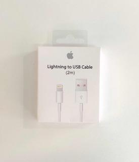 Cable Lightning Original 2m iPhone 5,6,7,8,x,plus,iPad,iPod