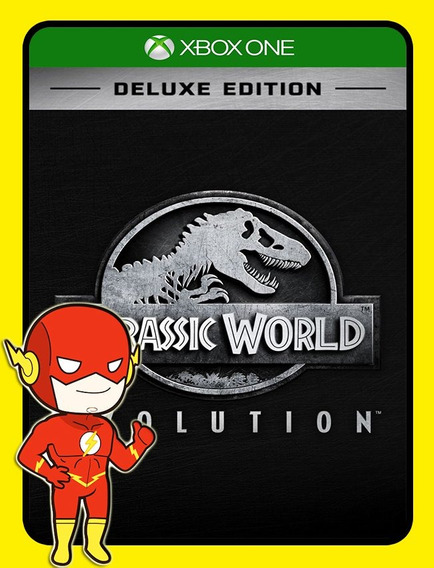 Jurassic World Deluxe Xbox One - 25 Dígitos (envio Flash)