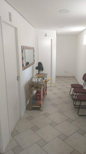 Sala Para Alugar, 14 M² Por R$ 1.000/mês - Jardim - Santo André/sp - Sa0077