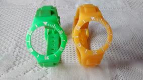 Pulseira Relógio Champion Mini Verde Ou Amarela