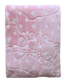 Cobertor Em Relevo Com Capuz Menina Jolitex
