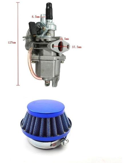 Carburador Com Filtro Espo/ Mini Motos/ Quadric 47cc 49cc/2t