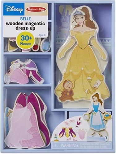 Muñeca De Madera Con Vestidos. Disney. Bella!!!