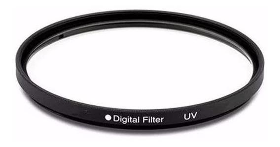 Filtro Uv 46mm - Para Lentes Nikon, Canon, Fuji, Sony