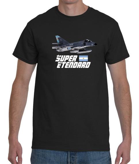 Remera Islas Malvinas Super Etendar Algodon Premium Homenaje