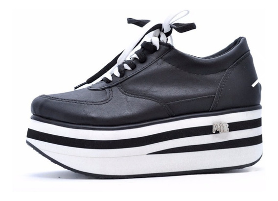 Zapatilla Plataforma Mujer Sneakers