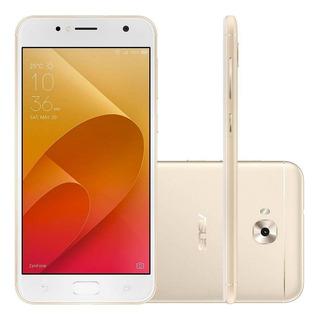 Smartphone Asus Zenfone Selfie Tela 5,5 13mp 16gb 4g Dourado