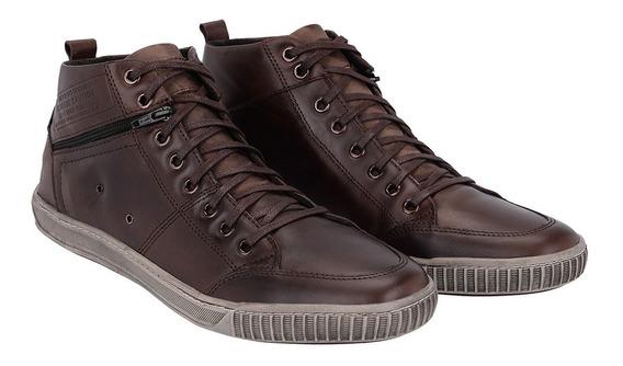 Bota Botinha Sapatênis Cano Alto Masculina Tchwm Shoes 5070