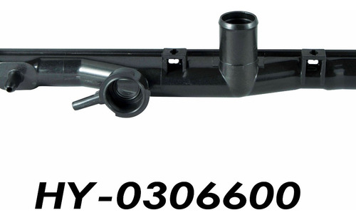 Tanque Superior Radiador Hyundai Accent Automático 62,5x3,6