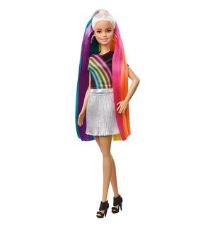 Muñeca Barbie Peinados Arcoíris Product Original Garantizado