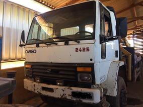 Ford Cargo 2425 Com Prancha E Munk