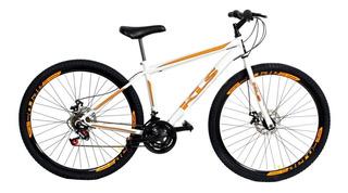 Bicicleta Aro 29 Kls Câmbios Shimano Freio Disco Mecanico