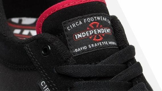 Tênis Circa Collab Independent Pro Model David Gravette