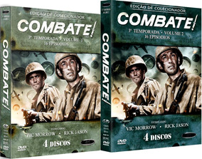 Dvd Combate - Terceira Temporada Completa, 8 Discos