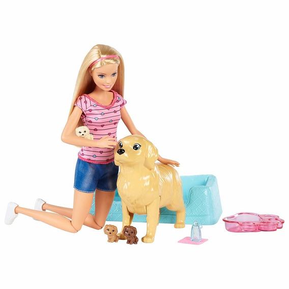 Barbie Família - Filhotinhos Recém-nascidos - Mattel Fbn17
