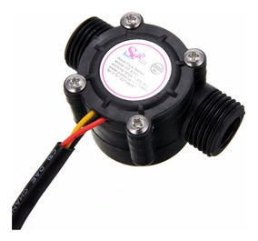 Sensor De Fluxo Ou Vazao De Agua 1/2 1-30l/min - Arduino