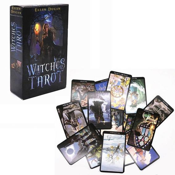 Tarô Da Bruxa - Witches Tarot Lacrado + 25 Livros De Tarô