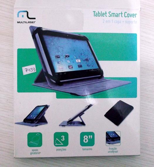 Case Universal P/ Tablet 8´´ 2 Em 1 Capa+suporte