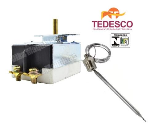 Termostato Regulador Fritador Tedesco Redondo 1 Cesto Fr-22