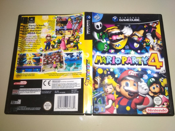 Jogo Cube Original - Mario Party 4 - Jap
