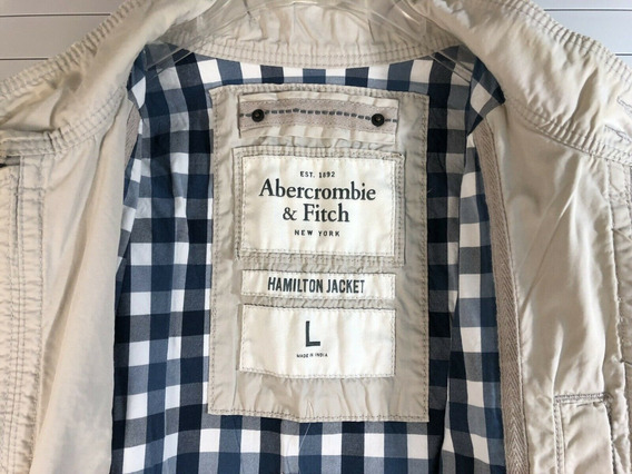 Jaqueta Abercrombie & Fitch Hamilton Jacket Masculina Nova