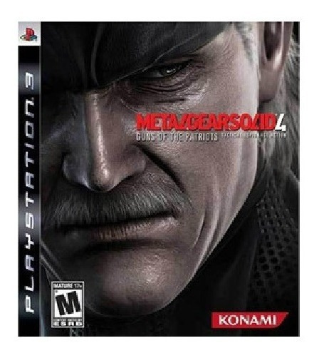 Jogo Metal Gear Solid 4 Guns Of The Patriots Ps3 Usado