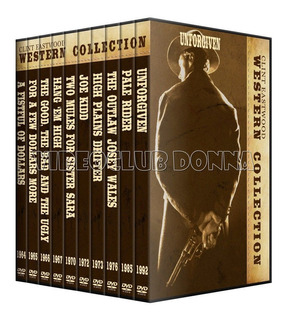 Coleccion Clint Eastwood Western 10 Dvds Pack Peliculas