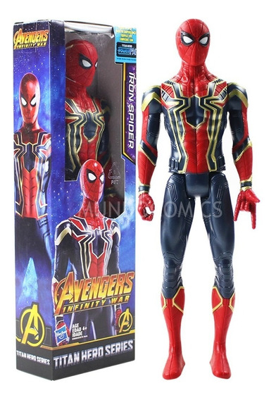 Muñeco Iron Spider Man Hasbro China Infinity War 30cm