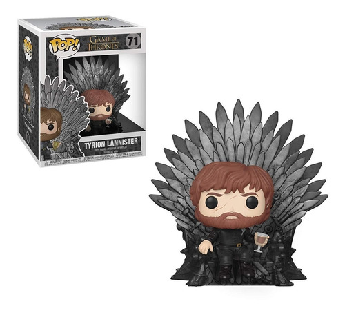 Pop! Deluxe Game Of Thrones Tyrion Sitting On Iron Throne