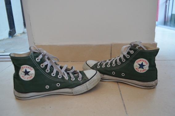 Zapatillas Converse Allstar Talle 38 Verde