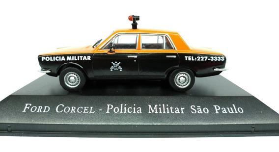 Miniatura Corcel Polícia Militar Rádio Patrulha São Paulo