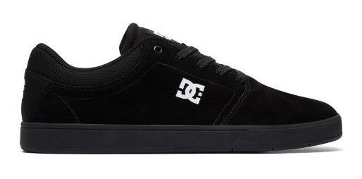 Tênis Dc Shoes Crisis La Black Black White Confortavel Preto
