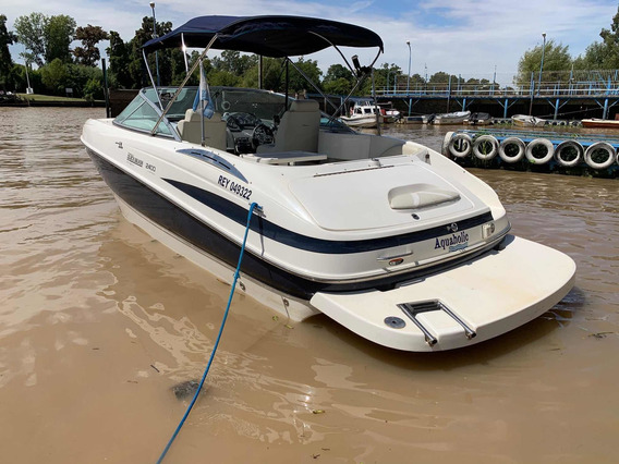 Quicksilver 2400 V8 300hs Duoprop Impecable