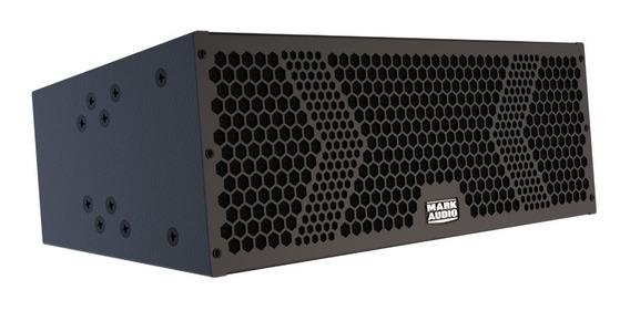 Caixa Line Array Amplificada Mark Audio Vmk6 Preta 500w 2x6