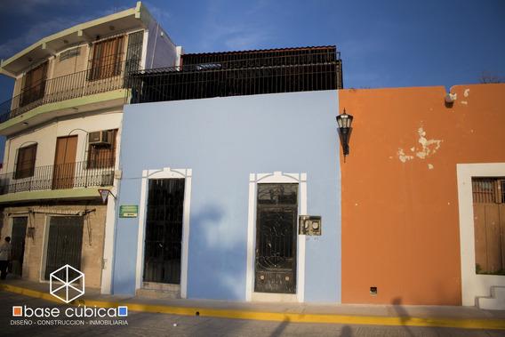 Casa En Venta En El Centro Histórico De Campeche