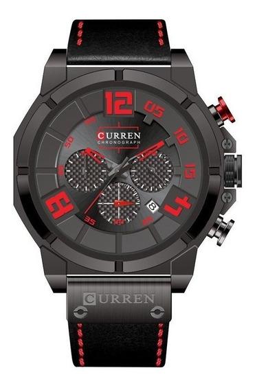 Reloj Hombre Curren 8287 Deportivo Correa Cuero 100%original