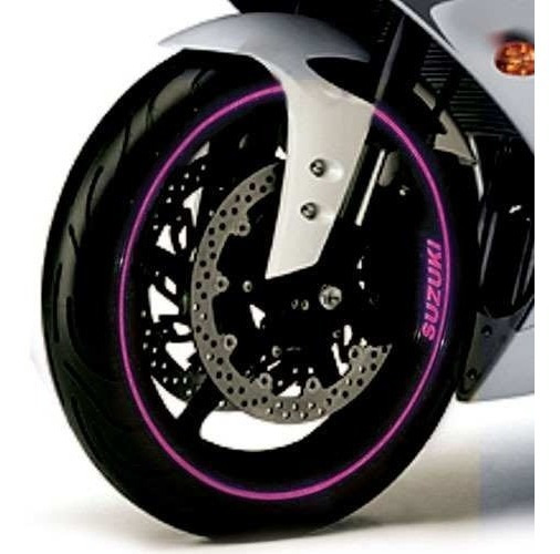 Friso Adesivo Refletivo 10mm Cores Exclusiva Roda Moto Carro