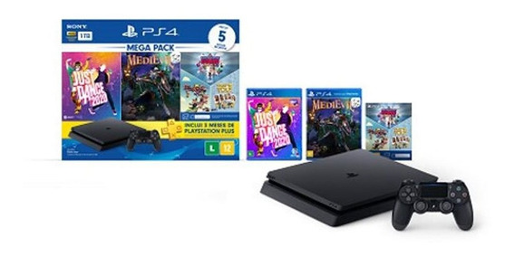 Playstation Ps4 Sony Mega Pack V11 1tb 5 Jogos