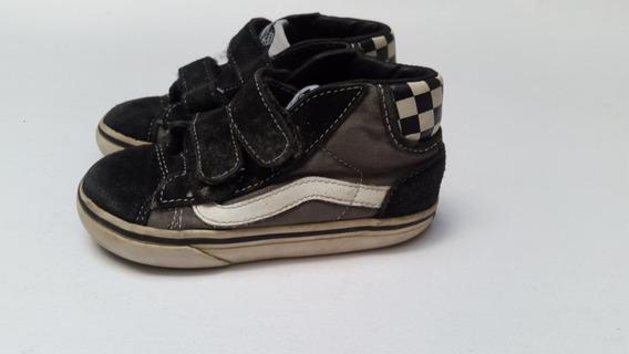 Zapatillas Vans Botita Clasica Usadas T7.5us 24ar