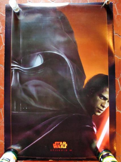 Poster Original Cine Teaser Star Wars: Episodio Iii 2005