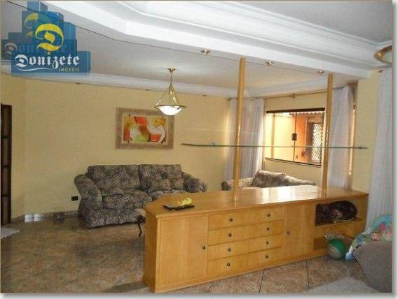 Sobrado Com 4 Dormitórios À Venda, 348 M² Por R$ 989.000,00 - Vila Pires - Santo André/sp - So1447