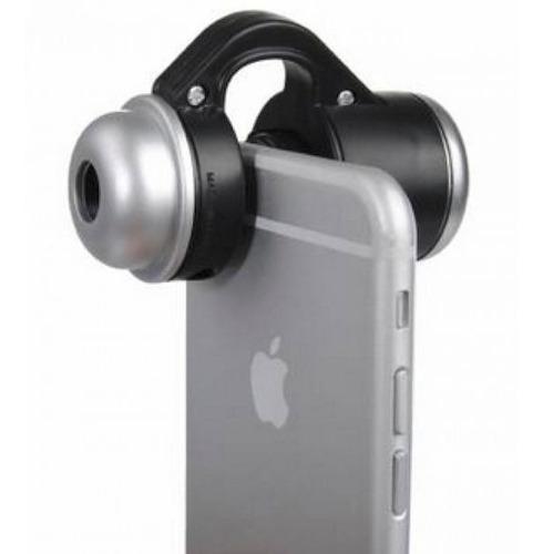 Lente 30x Zoom Microscopio C/led Para Celulares Y Tabletas ®