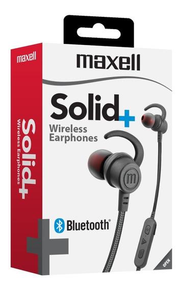 Maxell Audifo Solid Eb-bt100 Inalamb Bluetooth C/ Mic Smoke