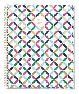 Agenda Planeador 2019-2020 Cambridge 11 X 8 1/2 Blair Geo