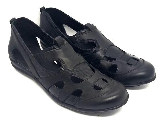 Zapato Cuero Calado Zuca