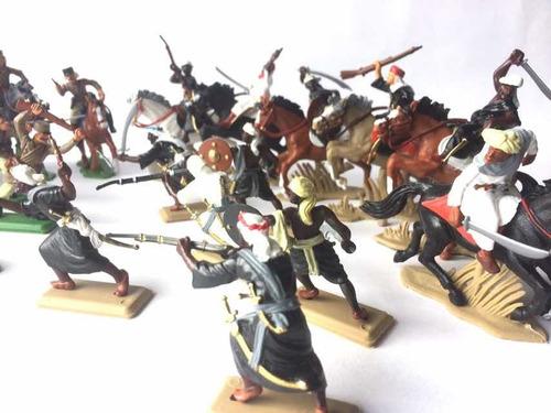 Soldados Legionarios Vs Árabes Set Completo X 24 Piezas