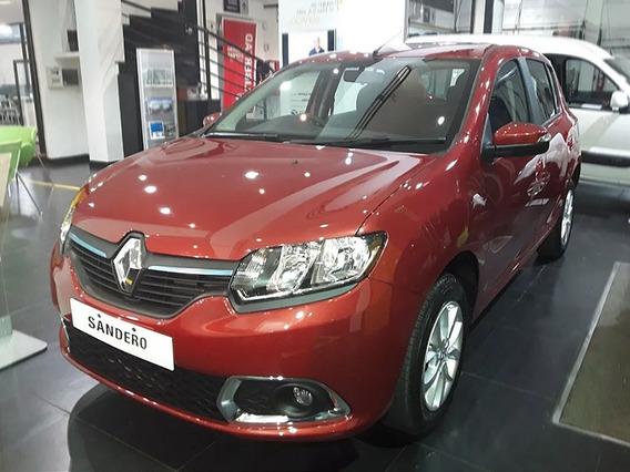 Renault Sandero Intens Blanco 2019 Contado Financiado