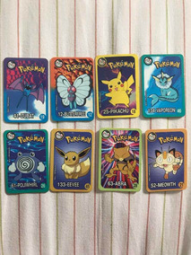1999 Cards Pokémon Elma Chips Lote 8 Unidades